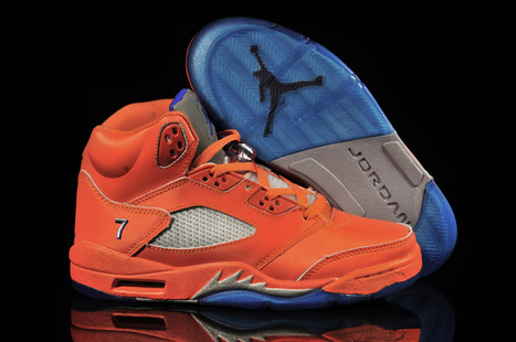Air Jordan 5 Retro Melo PE Team Orange Game Royal MTS for Sale | europe | Scoop.it