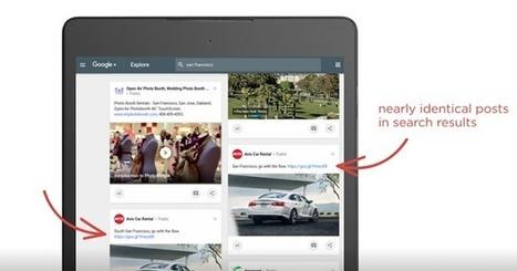 Google+ améliore son moteur de recherche interne | Geeks | Scoop.it
