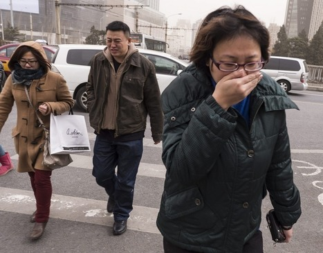 Sandstorm pushes Beijing pollution levels off the charts | China Current Events | Scoop.it