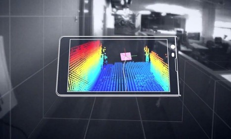 Kinect comes to your phone: Google reveals handset with 3D scanner | Mobile Guru | Scoop.it