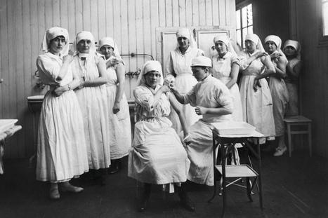 «Nom d'un chien! rugit-il. J'avais demandé le renfort d'un médecin auxiliaire, pas d'une midinette.» 1914-1918 - Nicole Girard-Mangin, première femme médecin sur le front   Mon centenaire de la grande guerre   Scoop.it
