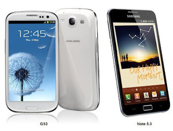 Samsung Galaxy S3 Vs Samsung Galaxy Note Comparison, Android Phones Review   Price Tags India - Latest Prices in India, All Price Lists India   Android Mobile Phones, Latest Updates on Android, Applications & Techonology   Scoop.it