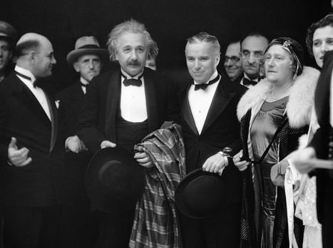 On This Day: Einstein and Chaplin Attend a Premiere in 1931 | Fotografía hoy | Scoop.it