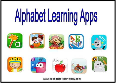 11 Fantastic iPad Apps for Teaching Kids Alphabets ~ Educational Technology and Mobile Learning | Flipped Classroom | Scoop.it