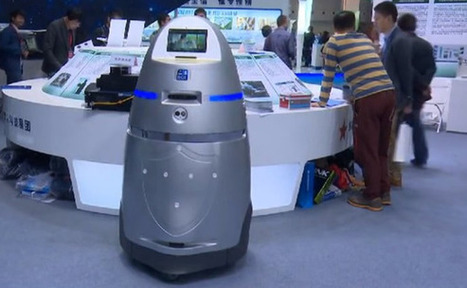 China unveils first robocop security guard | TheINQUIRER | Hacking Wisdom | Scoop.it