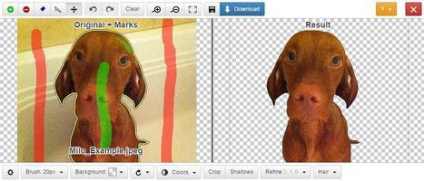 Instantly Remove Image Backgrounds Online - Clipping Magic | TiQuiTac | Scoop.it