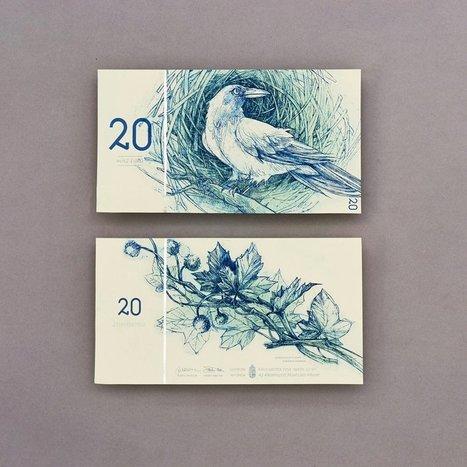 Elle réalise des billets de banque pour une monnaie totalement fictive, la BCE n'a qu'à bien se tenir | afep-papier-monnaie-actu | Scoop.it