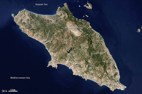 WORLD FROM SPACE Rhodes ~ IWO - Irish Weather Online | Remote Sensing News | Scoop.it