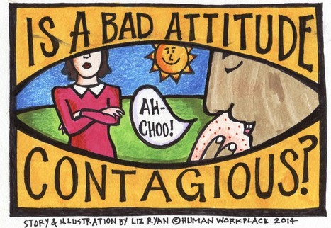 Is a Bad Attitude Contagious?   TalentCircles   Scoop.it