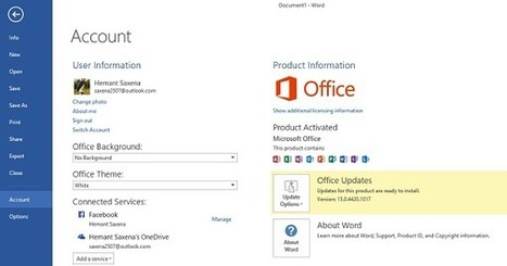 How to update Office 2013 manually | Daily Magazine | Scoop.it