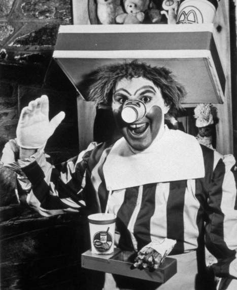 The Original Ronald McDonald, c.1963 - Retronaut | How to Market Your Small Business | Scoop.it