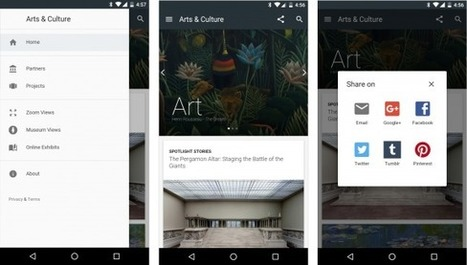 La plateforme web Google Art Project devient une application mobile Android | UseNum - Culture | Scoop.it