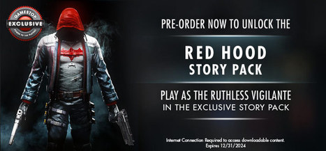 GameStop gets exclusive Red Hood story DLC for Batman: Arkham Knight | Video Game News | Scoop.it