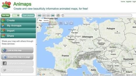 Animaps. Créer des cartes géographiques animées | Time to Learn | Scoop.it