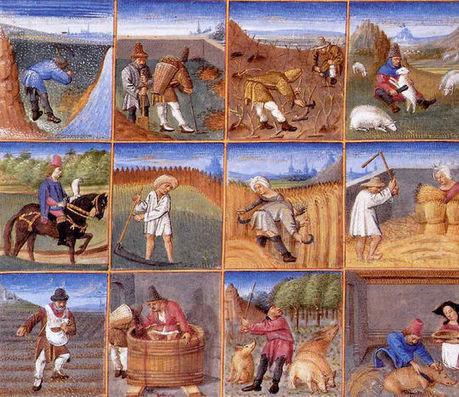 Vie des paysans au Moyen Âge   le Moyen Age   Scoop.it