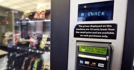 Man Loses Job Over Twix Stuck in Vending Machine | Morning Show prep | Scoop.it
