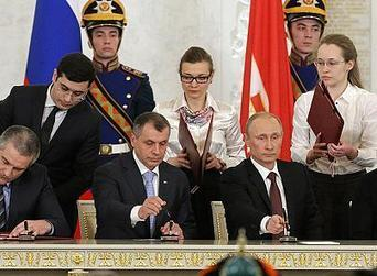 Vladimir Putin signs treaty to incorporate Crimea into Russian federation | Human Geography | Scoop.it
