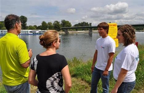 Sécurité aux abords des ouvrages - Les « hydroguides » d'EDF veillent sur les berges du Rhin | Le groupe EDF | Scoop.it