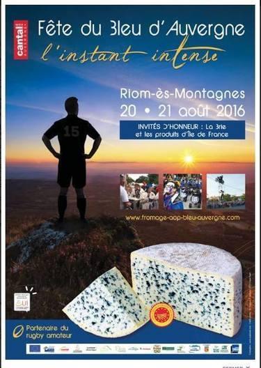 Fête du Bleu d'Auvergne à Riom-ès-Montagne les 20 et 21 août 2016   The Voice of Cheese   Scoop.it