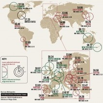 Real Hourly Minimum Wages Around The World | Digital Media | Scoop.it