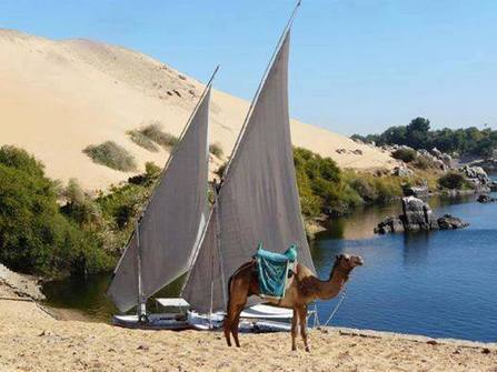 Nile River in Aswan Egypt | Facebook | Nubia; daily life and cultural heritage | Scoop.it