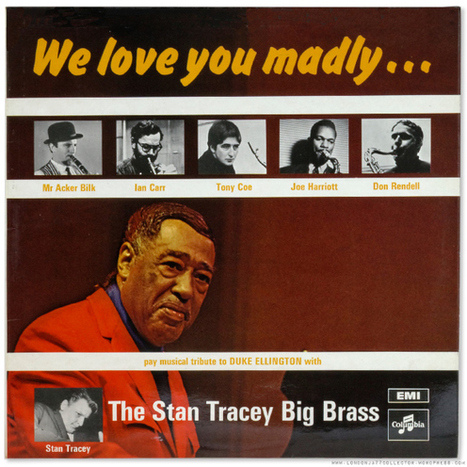Stan Tracey: We Love You Madly (1968) EMI /Columbia Magic Notes | Jazz Plus | Scoop.it