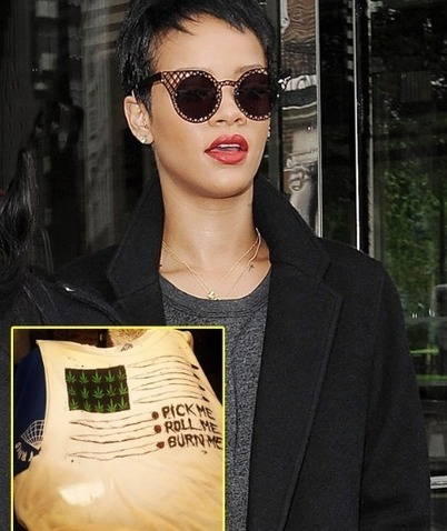 Rihanna Blows Up Twitter With Chronic Picture Of Killer Green Bud | Kush Smoke | Cannabis & CoffeeShopNews | Scoop.it