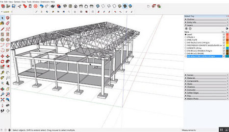 How to use sketchup & profile builder 2.1 to accelerate the engineering & construction works | Updates on 3D modeling world | Scoop.it