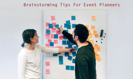 Brainstorming Tips for Event Planners | allconferencealert | Scoop.it