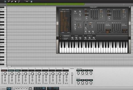 AudioSauna, crea música online con sintetizador y efectos | Recull diari | Scoop.it