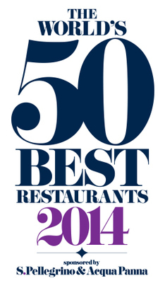 The 2014 World's 50 Best Restaurants Sponsored by S.Pellegrino® and Acqua ... - Business Wire (press release) | The Magazine | Scoop.it