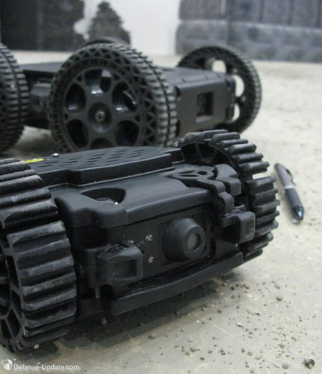 Throwable Robots Debut at the Singapoore Airshow   Defense Update   Robots and Robotics   Scoop.it
