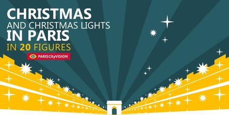 Christmas Lights in Paris in 20 Figures | PARISCityVISION | Visit Paris | Scoop.it