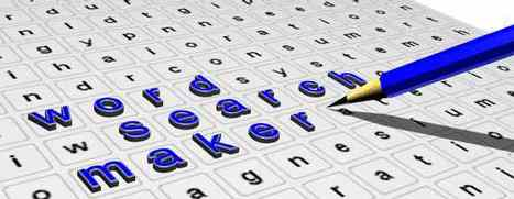 Word-Search Maker and Wordsearch Directory - From teachers-direct | technologies | Scoop.it