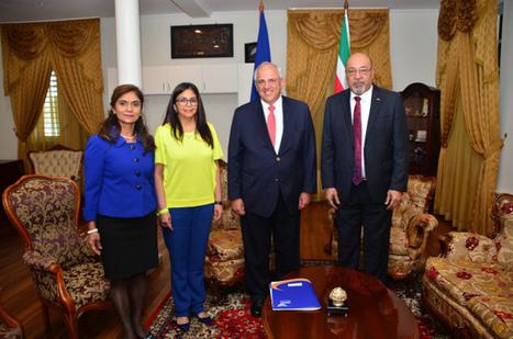 Surinam: Ernesto Samper y Delcy Rodríguez se reunieron con el presidente Bouterse | Algunos temas sobre el Caribe y Relaciones Internacionales | Scoop.it