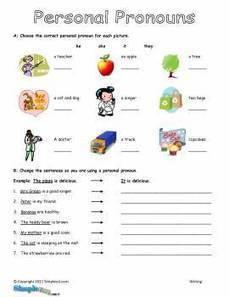 Personal Pronouns ESL Worksheet – Printable English Writing ... | personal pronouns | Scoop.it