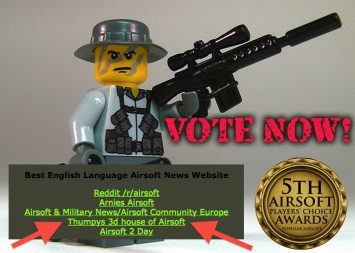 VOTE FOR THUMPY!!!!! - It's The Airsoft Players' Choice Awards Finals! - POPULAR AIRSOFT | Thumpy's 3D Airsoft & MilSim EVENTS NEWS ™ | Scoop.it