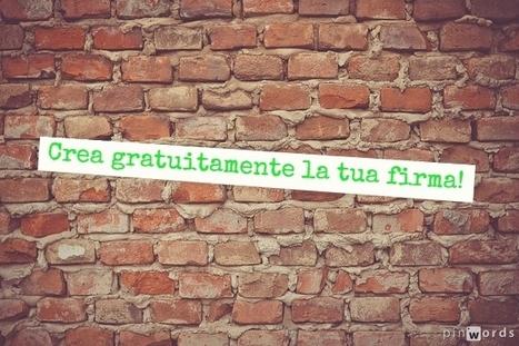 Crea la firma per i tuoi articoli! | Italiano digitale per letterati alla riscossa! | Scoop.it