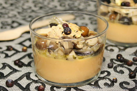 El món de Juju: Panacota de moniato amb bolets i foie   Les Receptes a mà   Scoop.it