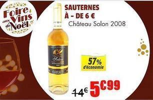 Distribution : une opération vins de Noël chez Cdiscount avec un Sauternes à moins de 6 € ! | Verres de Contact | Scoop.it
