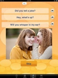 Best Speech Therapy Apps: Conversation Builder Teen   Speech-Language Pathology   Scoop.it