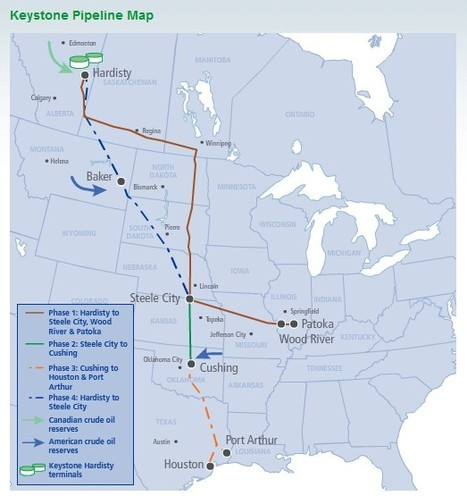 Canada to Texas Keystone Pipeline Project Permit Denied by Whitehouse   Texas Coast Living   Scoop.it