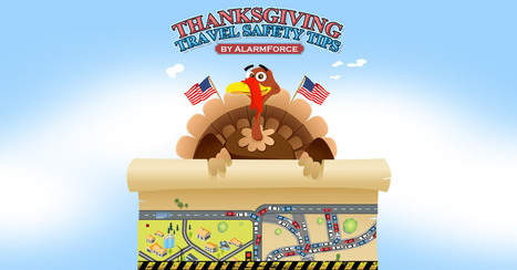 US Thanksgiving Travel Safety Tips [INFOGRAPHIC] | Shopping | Scoop.it