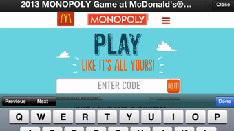 McDonald's deepens mobile advertising investment via Monopoly campaign - Mobile Marketer - Advertising | DIGITALEO | Scoop.it