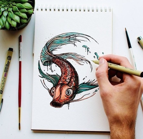 Father Illustrates Animals Every Day to Teach His Son the Alphabet | Le It e Amo ✪ | Scoop.it