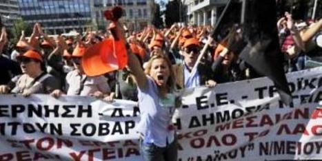 «La situation grecque actuelle fait penser à une époque lointaine, d'avant la guerre civile» | Humanite | Union Européenne, une construction dans la tourmente | Scoop.it