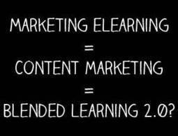 5 Ways Content Marketing Supports Instructional Design | Content marketing = Blended Learning 2.0 | Scoop.it