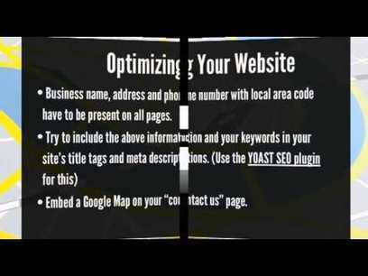 7 Steps to Ranking Your Site in Google's Local ...