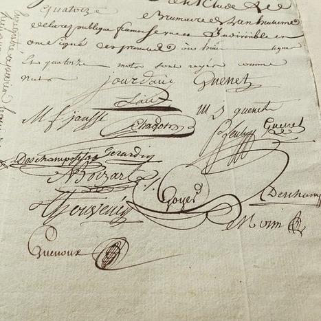 Châteauneuf et Jumilhac: Contrat de mariage de Louis Nicolas JOURDAIN et Marie Jeanne GUENET | Rhit Genealogie | Scoop.it