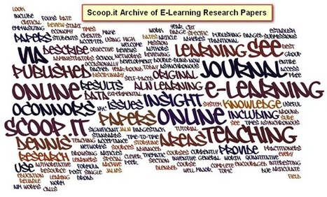 E-Learning Certificate Program: Research Articles: Archive of E-Learning Research   Information Technology: Science and Education   Scoop.it